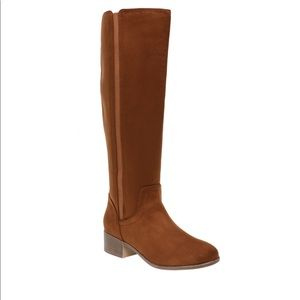 Time And Tru Tall Center Gore Women's Brown Boot